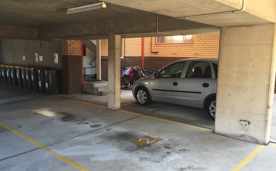Marrickville Undercover Car Space in Secure Carpark - 24/7 access