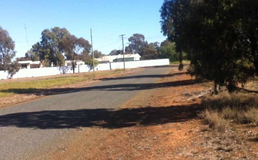 Wide, flat-grassed space perfect for Storage Container in Ungarie near West Wyalong #9