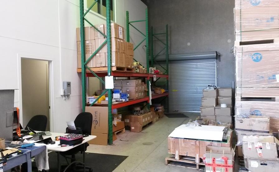 Two pallet size storage in a warehouse in Sunshine Coast - Coolum Beach