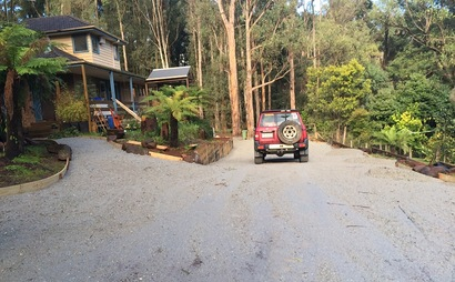 Huge driveway in Cockatoo
