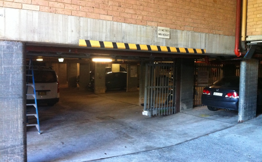 Secure underground car space in ULTIMO next to UTS TAFE