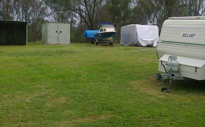 Open space for boats, caravans, cars, South Windsor (available on 1-June 2017)