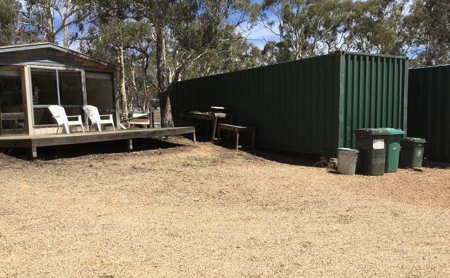40-ft Shipping Container in Wamboin
