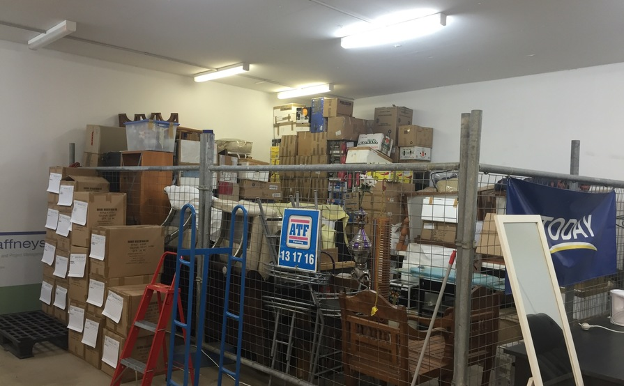 Sydney Airport / Mascot - Self Storage Cage 13sqm / 43cbm