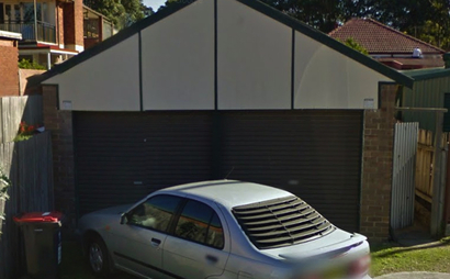 Double Lockup Garage in Marrickville