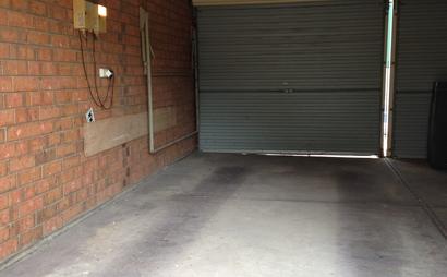 Single garage space at Highbury, South Australia.