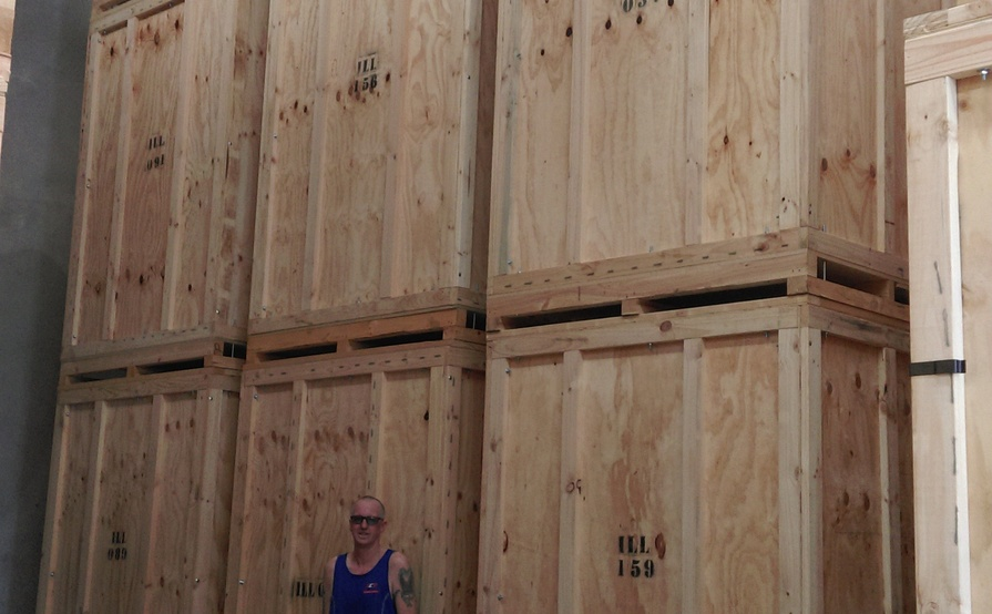 10 Cubic meter Storage space 1.8 x 2.4 x 2.4