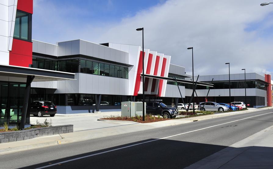 Basement Storage in modern building Phillip ACT