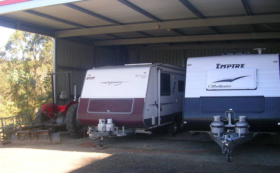 North Ipswich - Storage Shed for Caravans, Motorhomes, Boats, Motor Vehicles, Trucks, Machinery