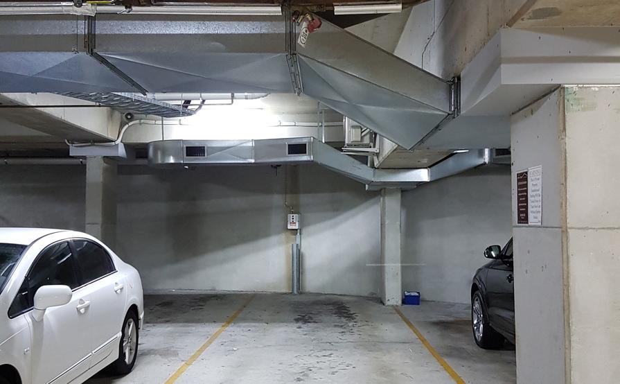 2 Car Tandem Secure Underground Park
