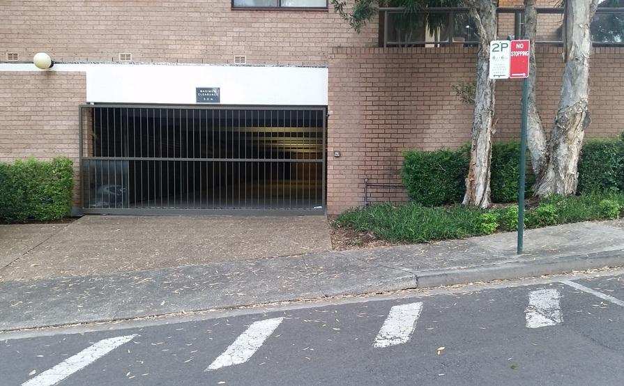 Lockup PARKING / STORAGE space in SECURITY GARAGE in Glebe