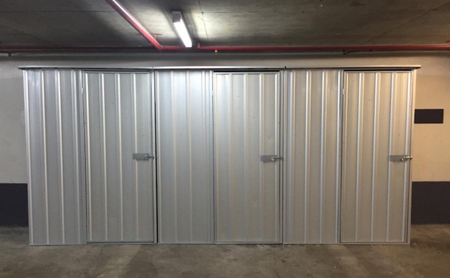Sydney CBD Storage Cage near Wynyard Station #2
