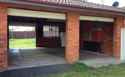 Glenfield - Double Garage in Fawcett St