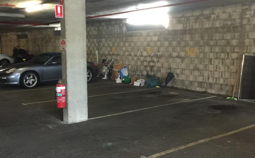 Cremorne - secure parking space