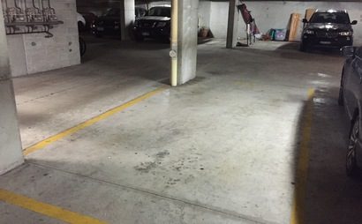 Elizabeth Bay secured undercover car park