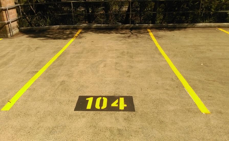Lane Cove North - Secure Car Parking Space