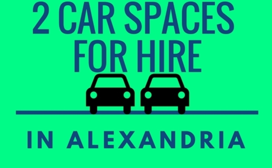 2 DOUBLE CAR SPACES FOR RENT - ALEXANDRIA