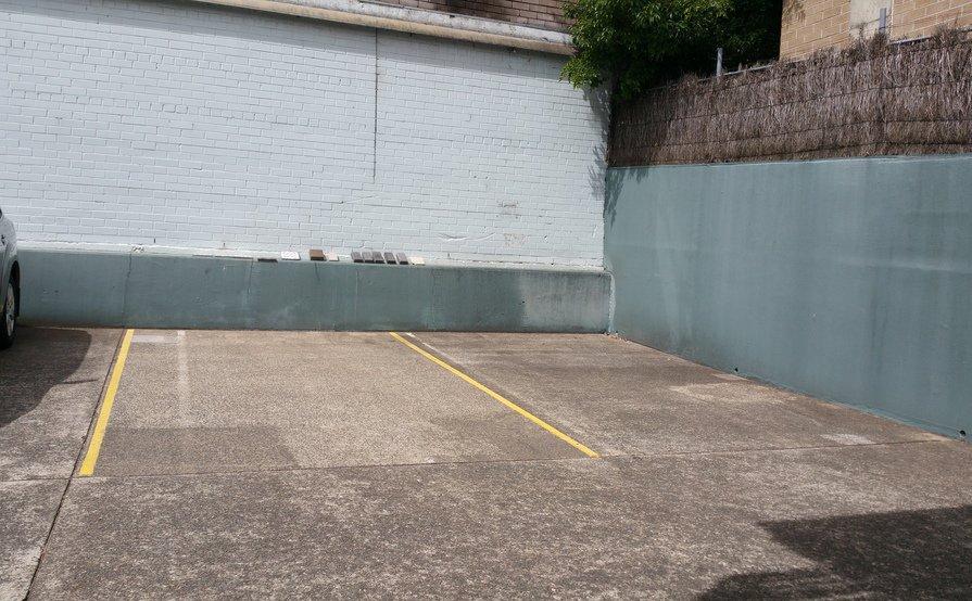 St Leonards - security car park behind units
