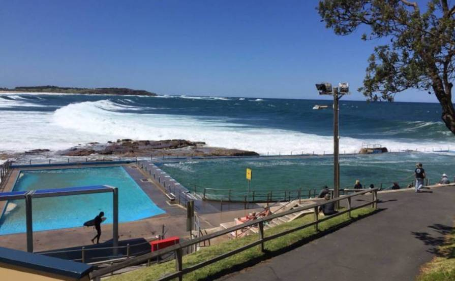 Beach front spot for rent in Dee Why. Prime for beach, ocean pool and shops!