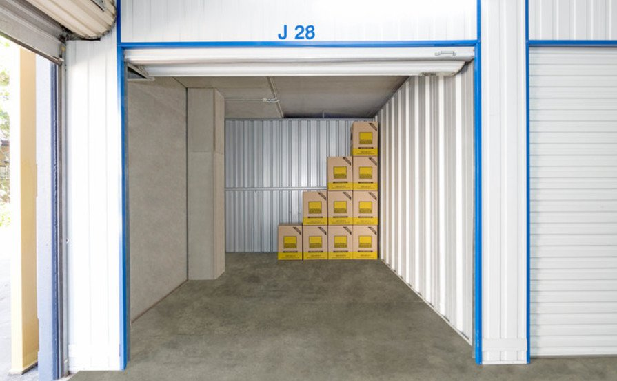 Self Storage in Virginia - 8.4 sqm
