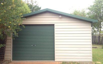 Garage for storage