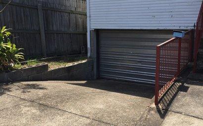 Parking space between James & Brunswick Street