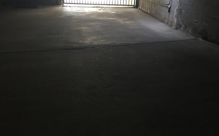 Secure lock up garage