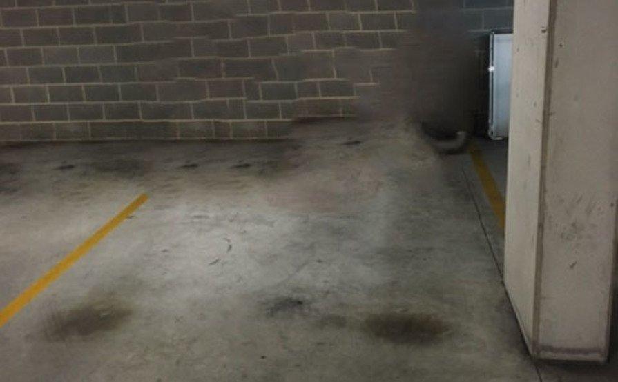 Alexandria - Underground security car space