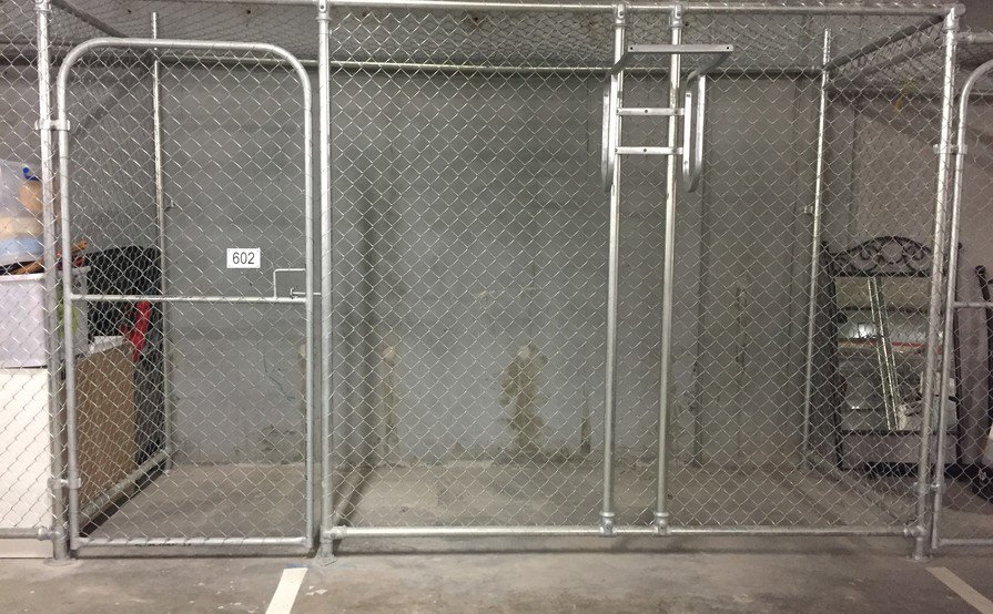 Storage Cage Great location and Great size (Available on August 1, 2017)