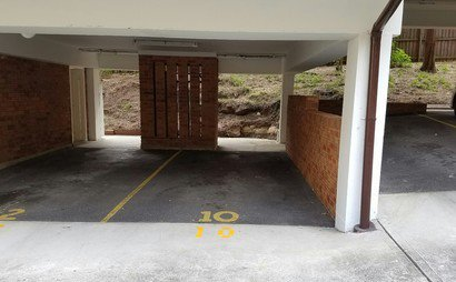 Single underbuilding car space in Macquarie Park NSW