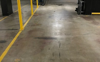 One basement car parking space in Wolli Creek apartment complex, NSW