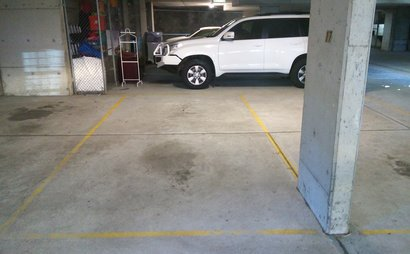 Secure underground car spot  available