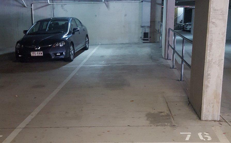 Secure undercover parking spots