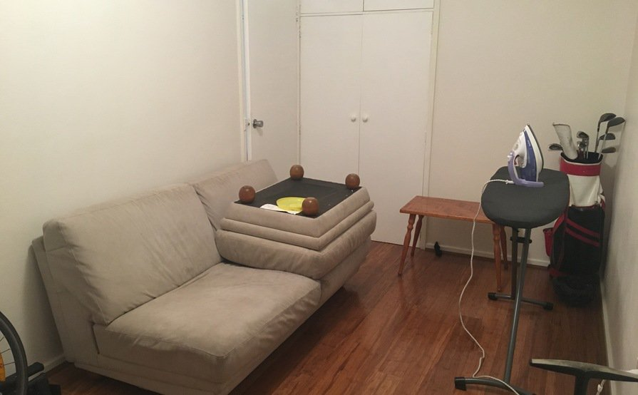 North Melbourne - Bedroom as Storage