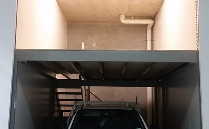 STORAGE UNIT, 6m X 3m, WITH TWO LEVELS. SECURE COMPLEX in Marrickville