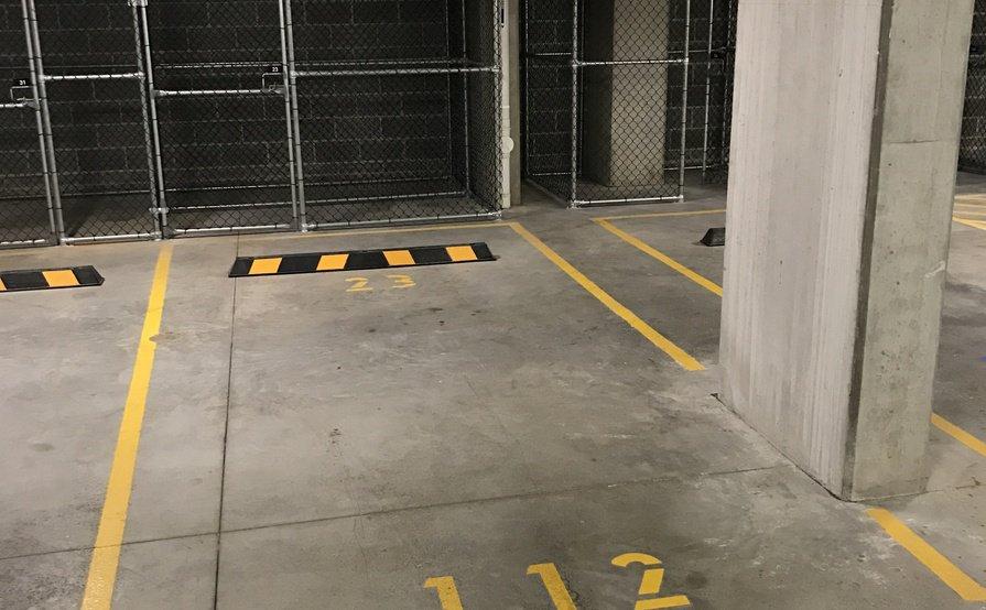 Connor Building Secure Parking Space