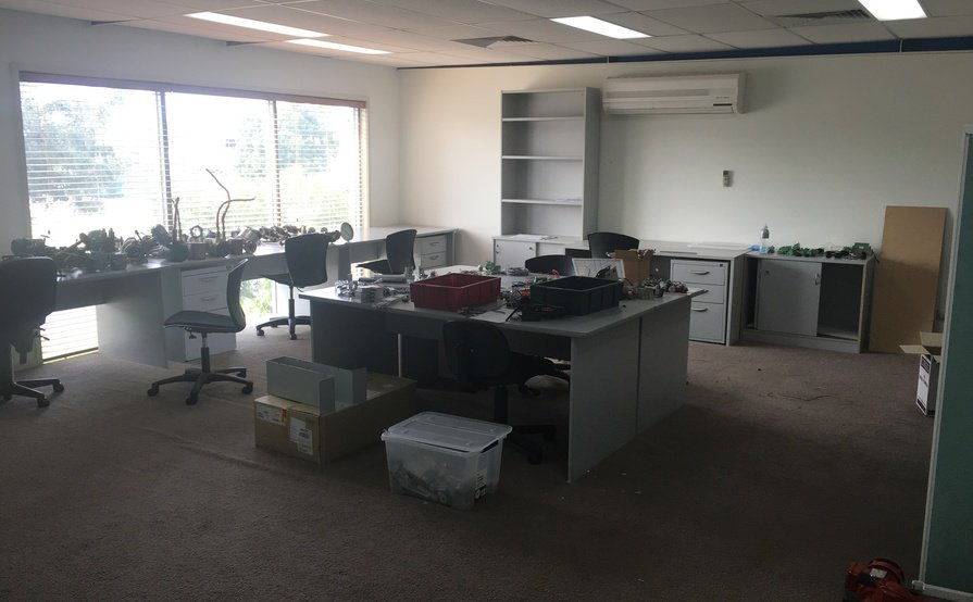 Fully furnished lockable office/file storage, all bills included