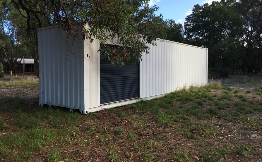 40ft Shipping Container with easy access