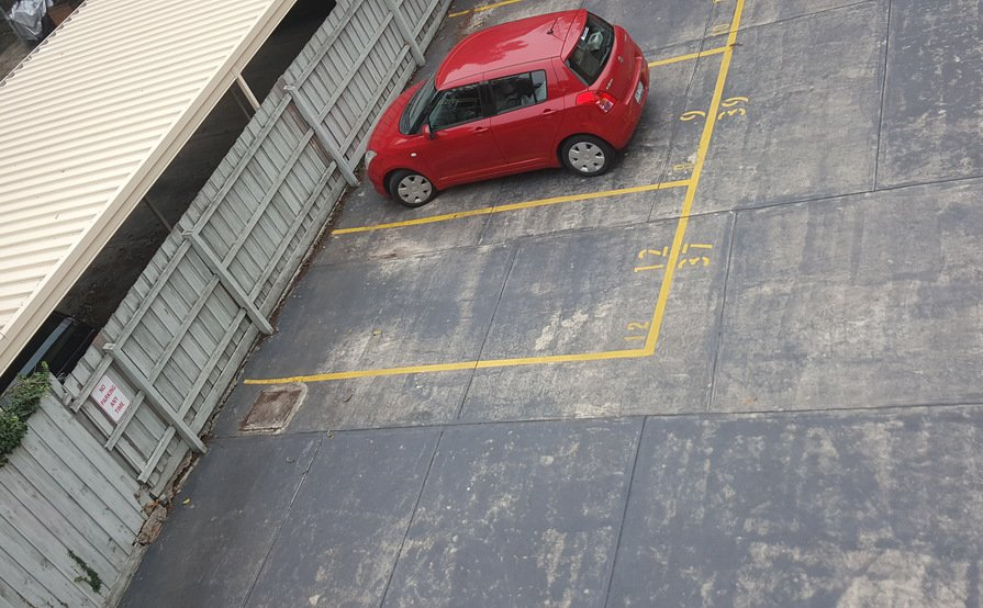 Secure Private Parking with Own Remote(24/7)