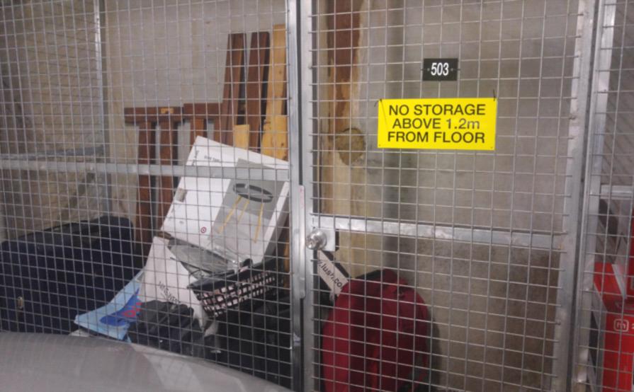 Harris Park - Storage Cage for Rent