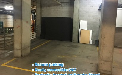 Convenient, secure undercover parking space accessible 24/7 - Bourke Street, Redfern (Very near Surry Hills / Waterloo)