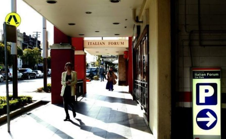 Security car space, The Italian Forum, Leichhardt (Available starting Jan 9)