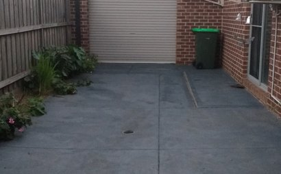 Backyard For Car Parking