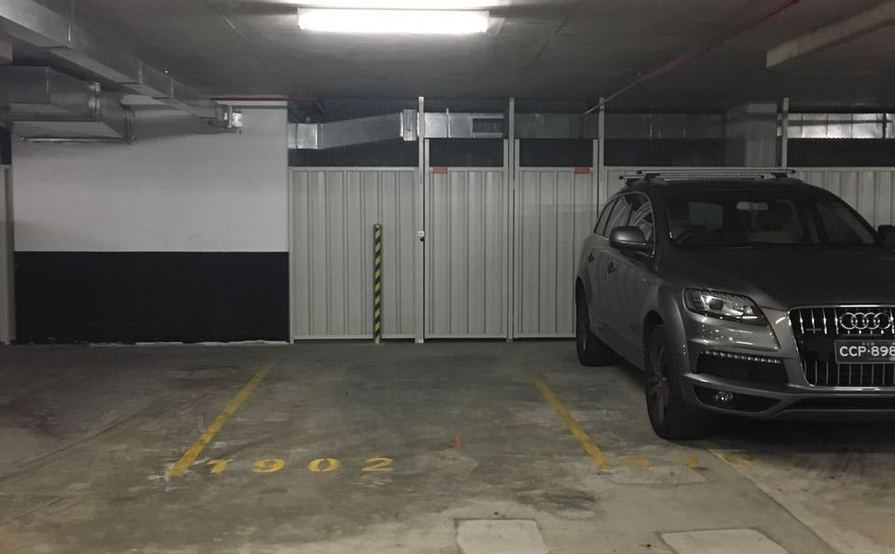 Secure basement Car Part at Chatswood, 3 mins to Train Station
