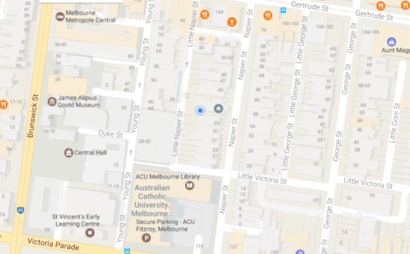 Fitzroy Melbourne CBD - Off Street Car Spot (Available by 13-July)