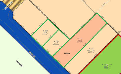 Vacant land, large block 5km to Perth CBD.  From 656m2 to 2988 m2 available