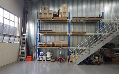 pallet storage and space available