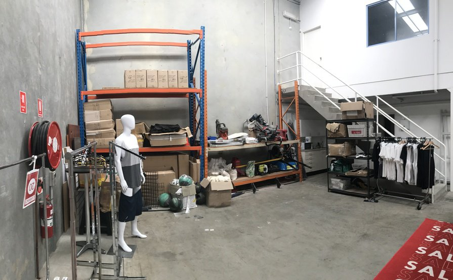 Warehouse storage space for rent.