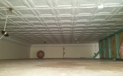 Ceiling storage space for rent by the sqm (20sqm in total)