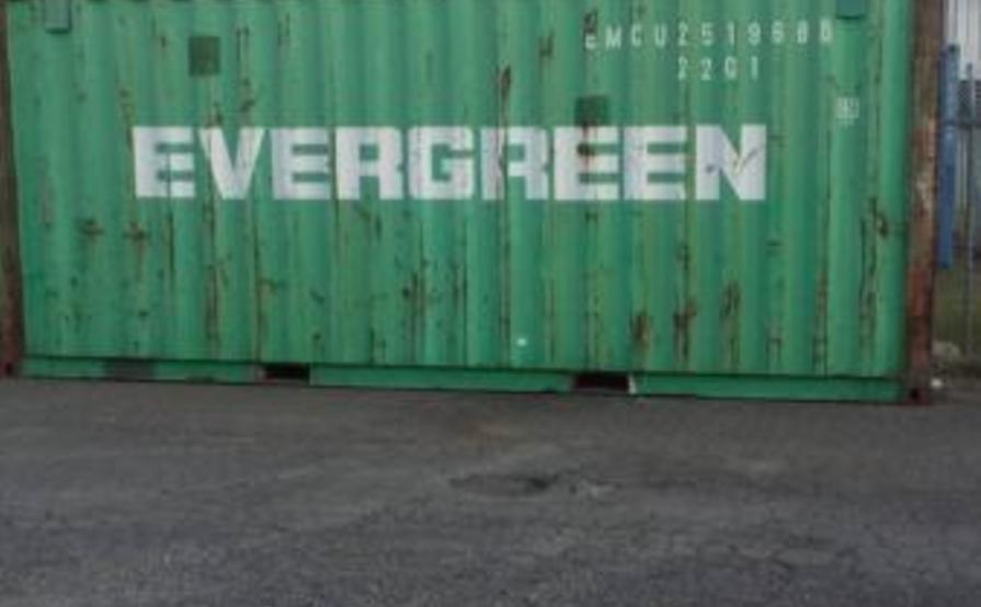 Metal Storage Containers For Rent Part - 27: Lidcombe - 20ft Metal Storage Container For Rent